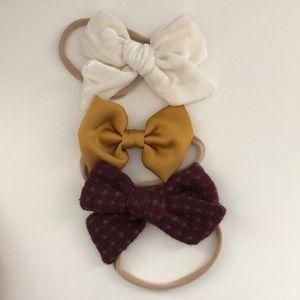 Little Poppy Co December 2018 bows